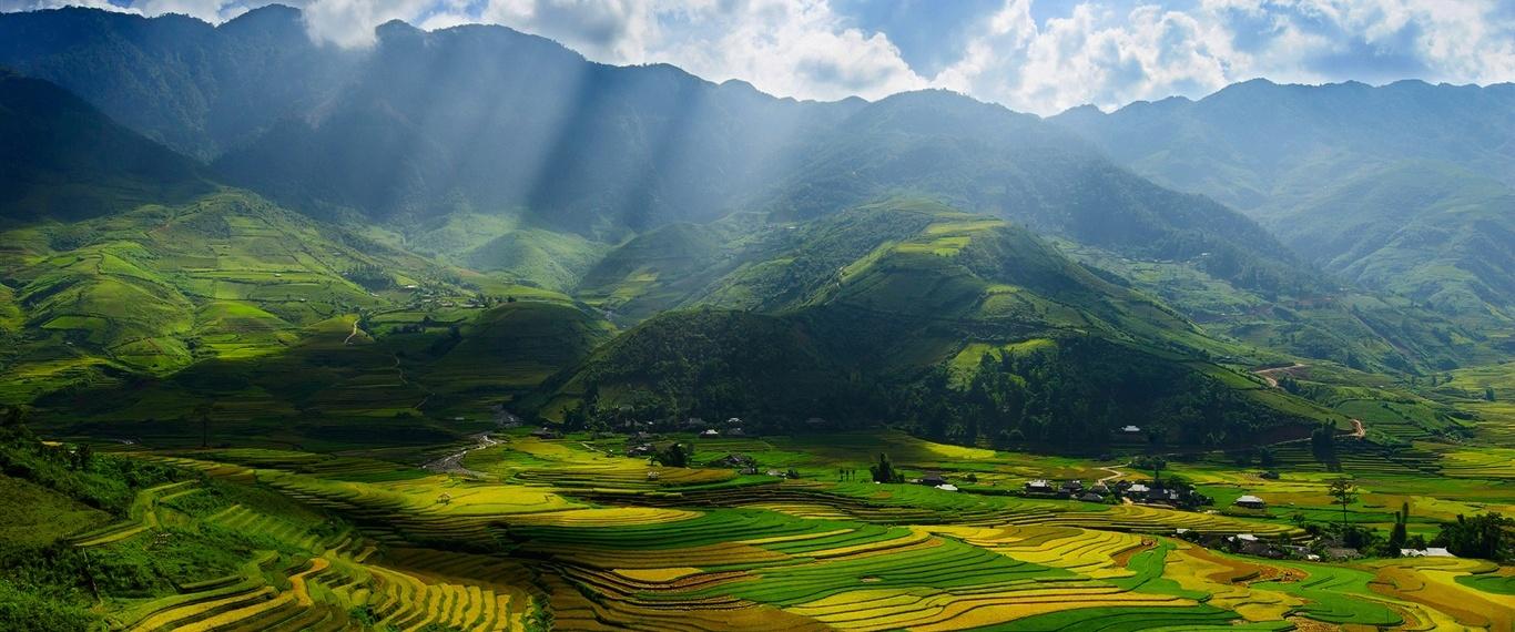 Vietnam-valley-fields